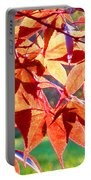 Japanese Maple Leaves 6 In The Fall Portable Battery Charger