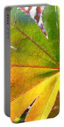 Japanese Maple Leaves 7 In The Fall Portable Battery Charger