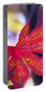 Japanese Maple Leaves In The Fall Portable Battery Charger
