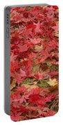 Japanese Red Maple Leaves Portable Battery Charger