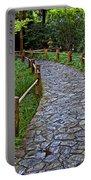 Japanese Tea Garden Path Portable Battery Charger