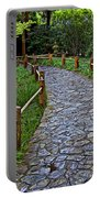 Japanese Tea Garden Path Portable Battery Charger