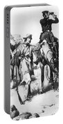 J.c. Fremont And His Guide, Kit Carson Portable Battery Charger