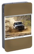Jeep In The Mud Portable Battery Charger