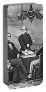 Jefferson Davis, Cabinet Portable Battery Charger by Photo Researchers