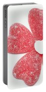 Jelly Candy Heart Flower 1 Portable Battery Charger