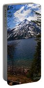Jenny Lake In The Grand Teton Area Portable Battery Charger
