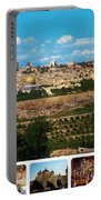 Jerusalem Poster Portable Battery Charger