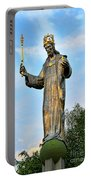 Jesus Christ Statue Portable Battery Charger