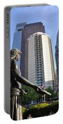 Jesus Of Philadelphia Portable Battery Charger