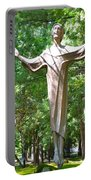 Jesus Statue Portable Battery Charger