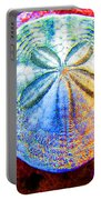 Jeweled Sand Dollar Portable Battery Charger
