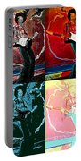 Jimmy Hendrix Pop Portable Battery Charger