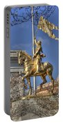 Joan Of Arc Statue New Orleans Portable Battery Charger