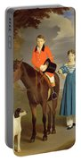 John Gubbins Newton And His Sister Mary Portable Battery Charger