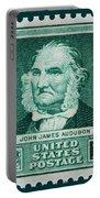 John James Audubon Postage Stamp Portable Battery Charger