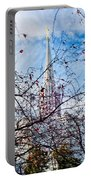 Jordan River Temple Branches Portable Battery Charger