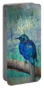 Josh's Blue Bird Portable Battery Charger
