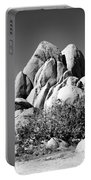 Joshua Tree Center Bw Portable Battery Charger