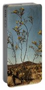 Joshua Tree Park In Bloom Portable Battery Charger