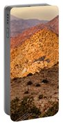 Joshua Tree Sunrise Panorama Portable Battery Charger
