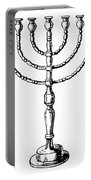 Judaism: Menorah Portable Battery Charger