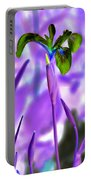 Jungle Iris Portable Battery Charger