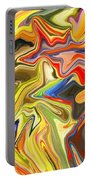Just Abstract Viii Portable Battery Charger