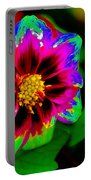 Just Another Regular Flower In The Garden Portable Battery Charger