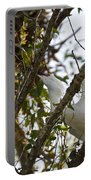 Juvenile Snowy Egret Portable Battery Charger