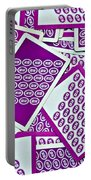 K And B Playing Cards New Orleans Portable Battery Charger