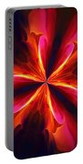 Kaliedoscope Flower 121011 Portable Battery Charger by David Lane