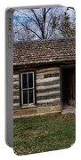 Kansas Log Cabin Portable Battery Charger
