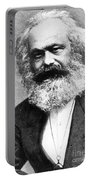 Karl Marx Portable Battery Charger