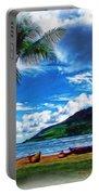Kauai Beach And Palms Portable Battery Charger