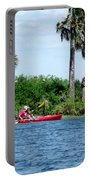 Kayaking Along The Gulf Coast Fl. Portable Battery Charger