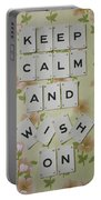 Keep Calm And Wish On Portable Battery Charger
