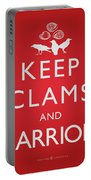 Keep Clams And Carrion Portable Battery Charger