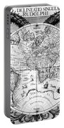 Keplers World Map, Tabulae Portable Battery Charger by Science Source