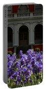 Kew Garden Irises Portable Battery Charger