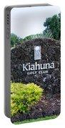 Kiahuna Golf Club Portable Battery Charger