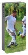 Kicking Soccer Ball Portable Battery Charger