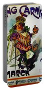 King Carnaval March - Mardi Gras Portable Battery Charger