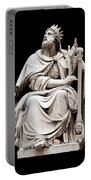 King David Portable Battery Charger by Fabrizio Troiani
