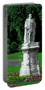 King Edward Vii Statue - Lichfield Portable Battery Charger