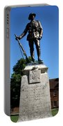 Kings Royal Rifle Corps Memorial In Winchester Portable Battery Charger