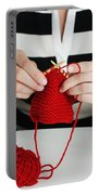 Knitting Portable Battery Charger