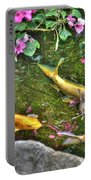 Koi Fish Poses Portable Battery Charger