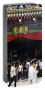 Kwan Im Tong Hood Cho Buddhist Temple In The Bugis Area In Singa Portable Battery Charger