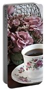 Ladies Tea Time Portable Battery Charger